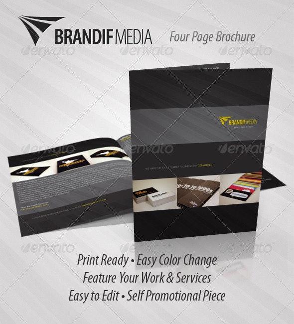 Brandif - Four Page Brochure - Corporate Brochures