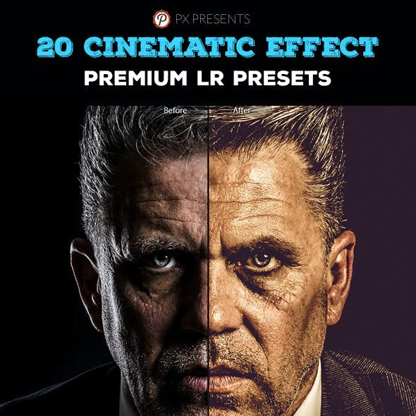20 Cinematic Premium Presets
