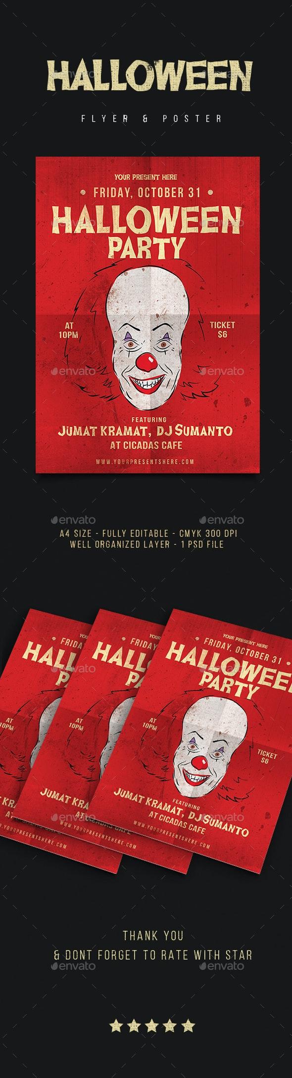 Halloween Flyer Vol. 6 - Events Flyers