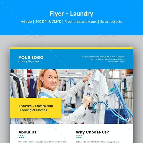 Flyer – Laundry Service