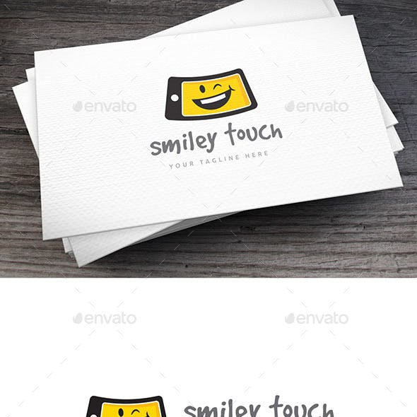 Smiley Touch Logo Template
