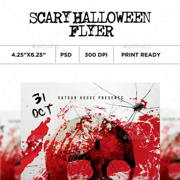 Scary Halloween Flyer V2