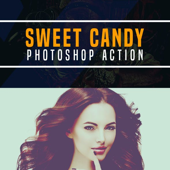 Sweet Candy Photoshop Action