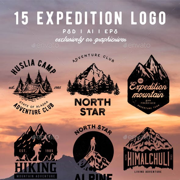 15 Expedition Badges & Logo