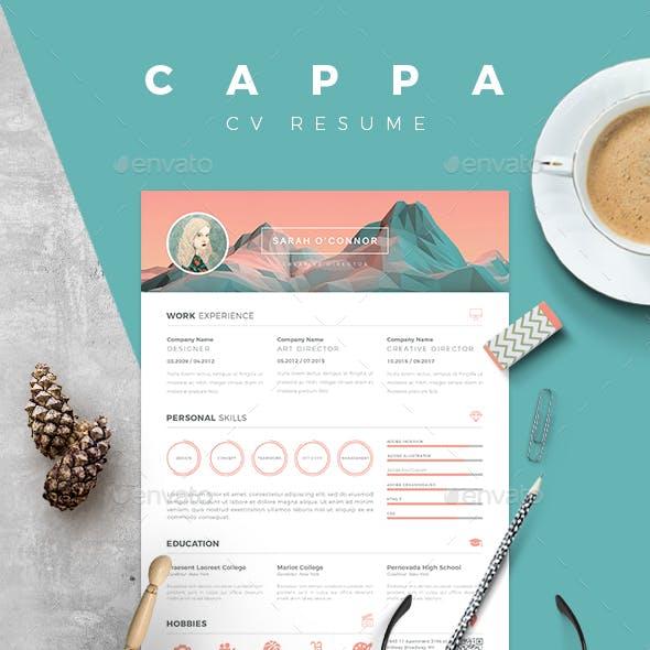 CAPPA - Resume CV Template
