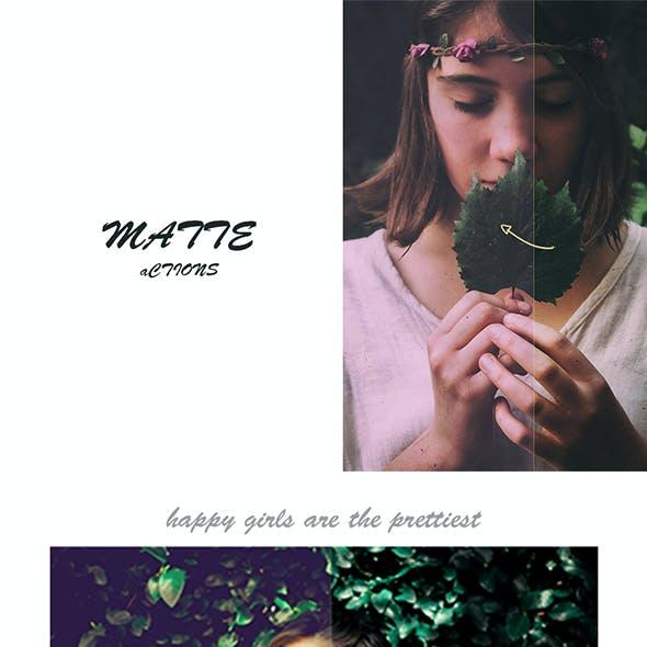 Matte PS Actions