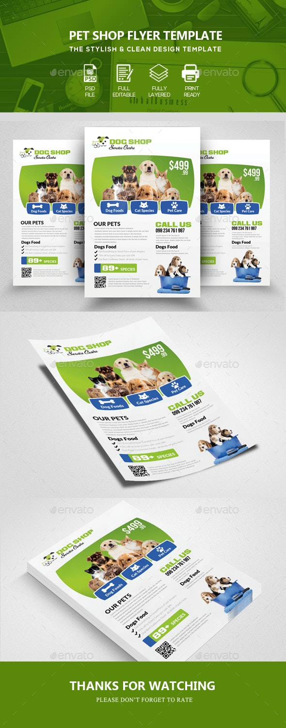 Pet Home Flyer Templates - Corporate Flyers