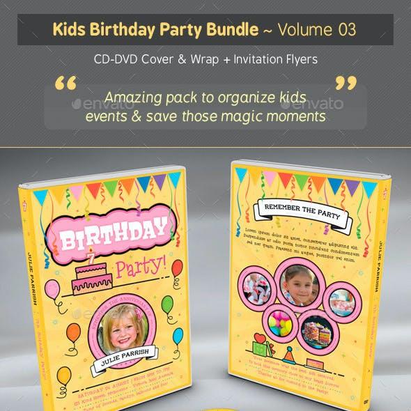 Kids Birthday Party Bundle - Volume 03