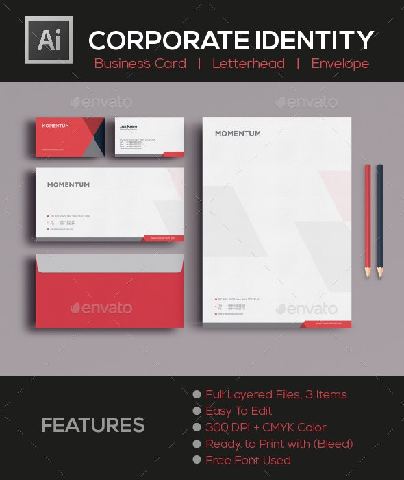 CORPORATE IDENTITY - Corporate Business Cards
