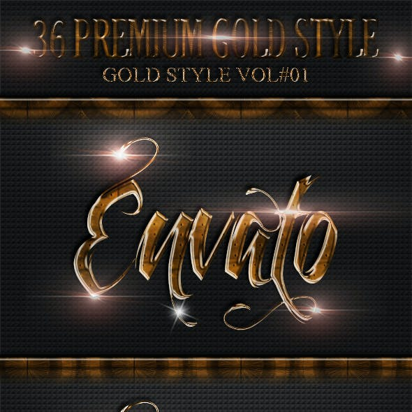 36 Gold Style Vol 1