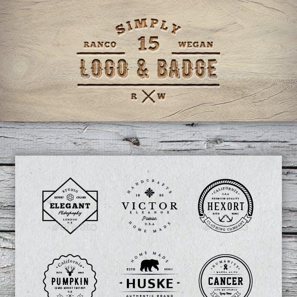 Simply Logo & Badge