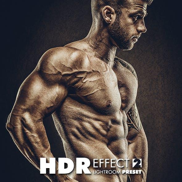 HDR Lightroom Effect