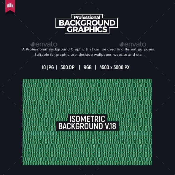 Isometric Background V.18
