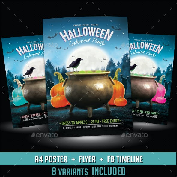 3 in 1 Halloween Event Pack