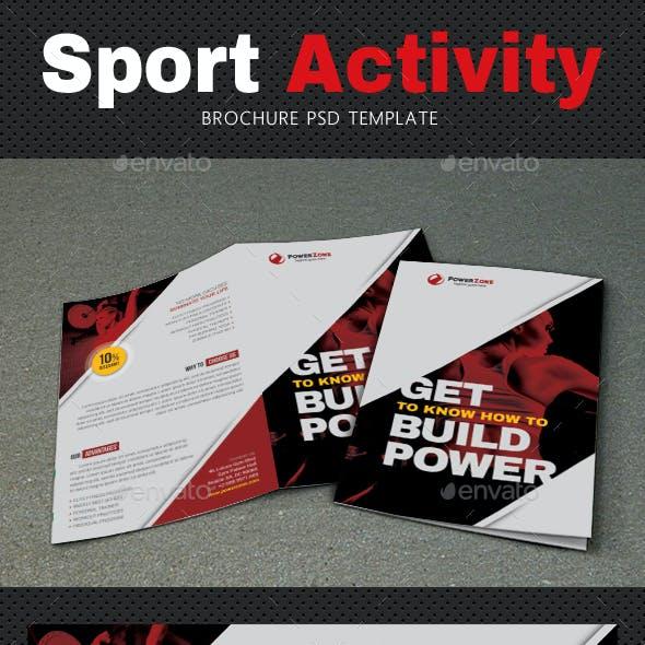 Sport Activity Brochure 4