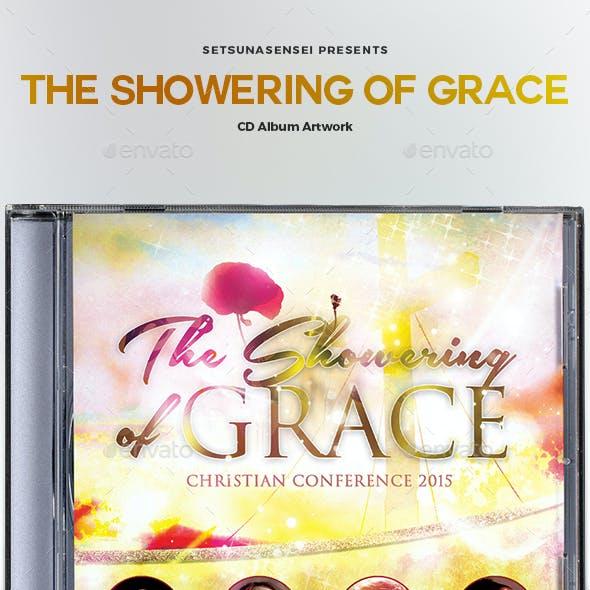 The Showering of Grace CD Album Artwork