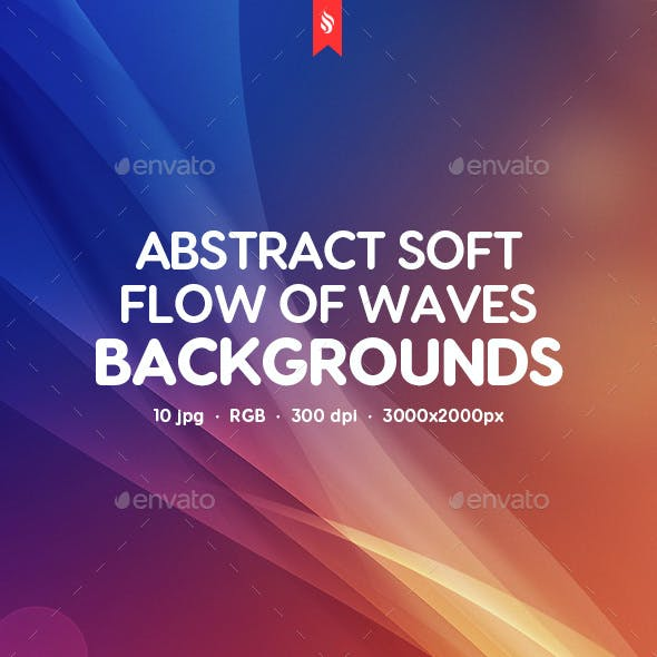 Soft Flow of Waves Backgrounds