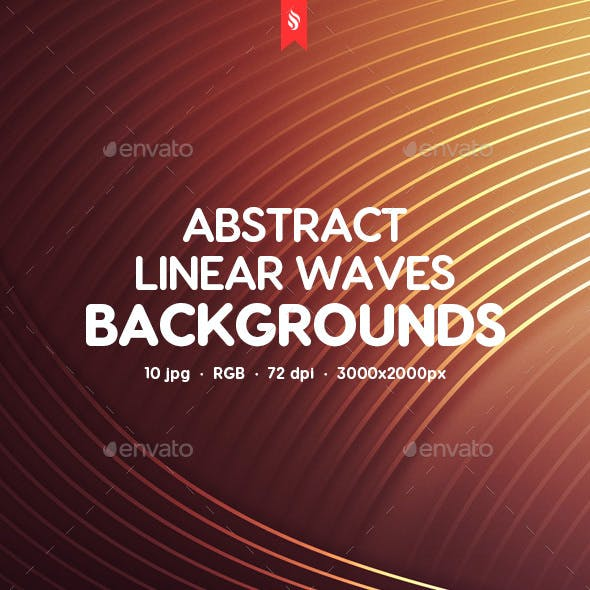 Abstract Linear Waves Backgrounds