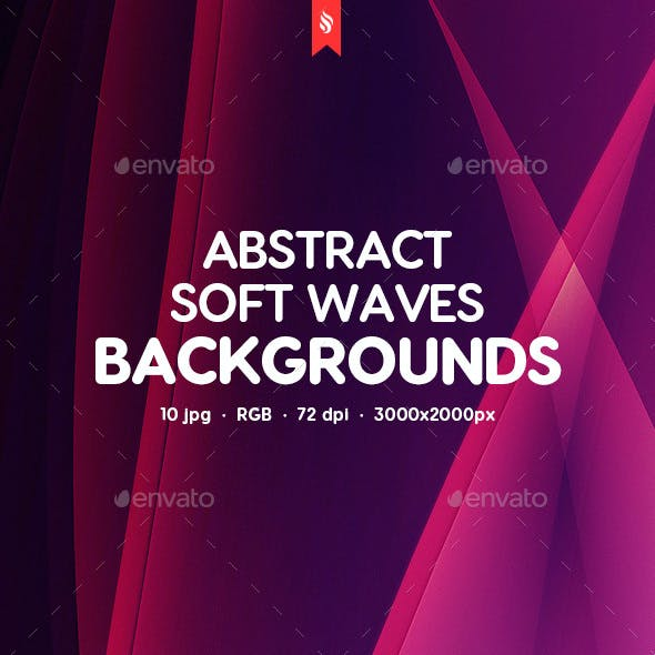 Abstract Soft Waves Backgrounds
