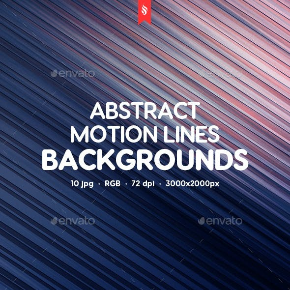 Abstract Motion Lines Backgrounds