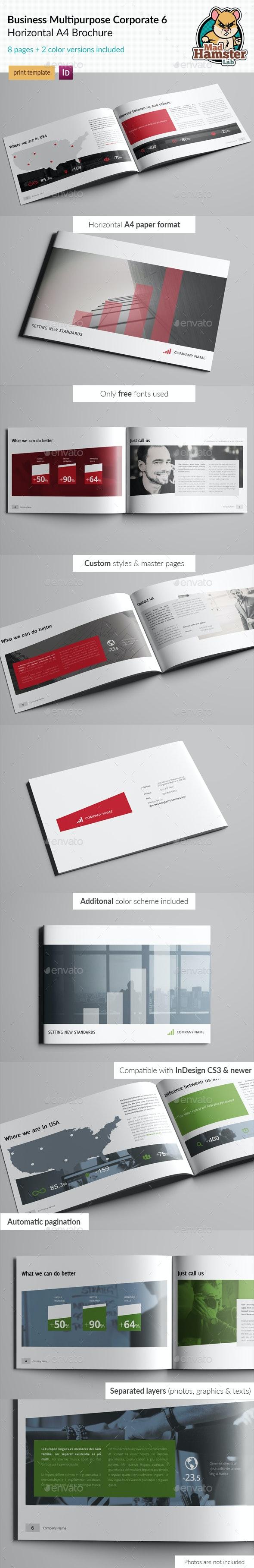 Business / Corporate Multi-purpose A4 Brochure 6 - Corporate Brochures