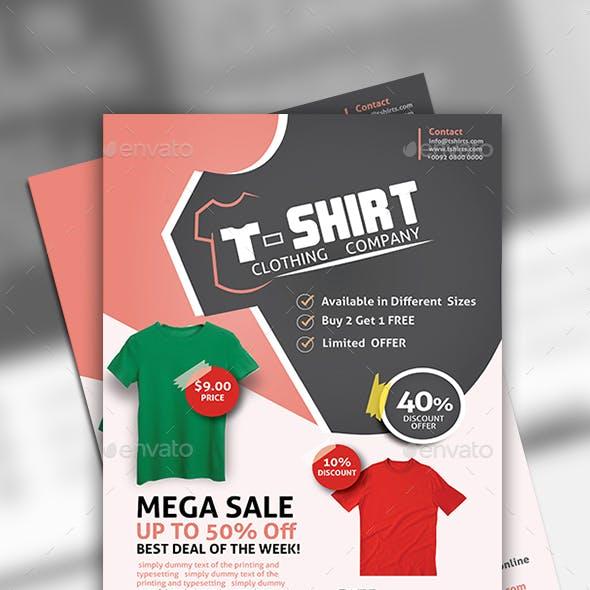 T-Shirt Store Flyer