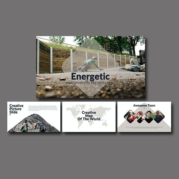Energetic Multipurpose Presentation