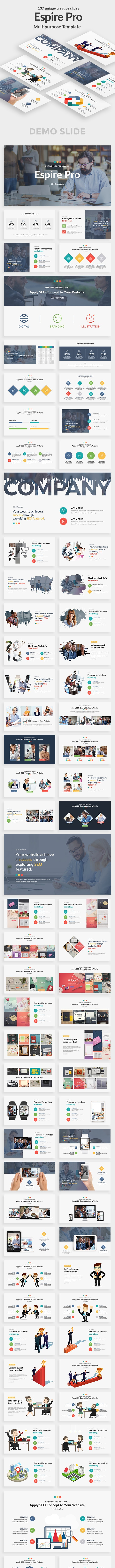 Espire Multipurpose Powerpoint Template - Business PowerPoint Templates