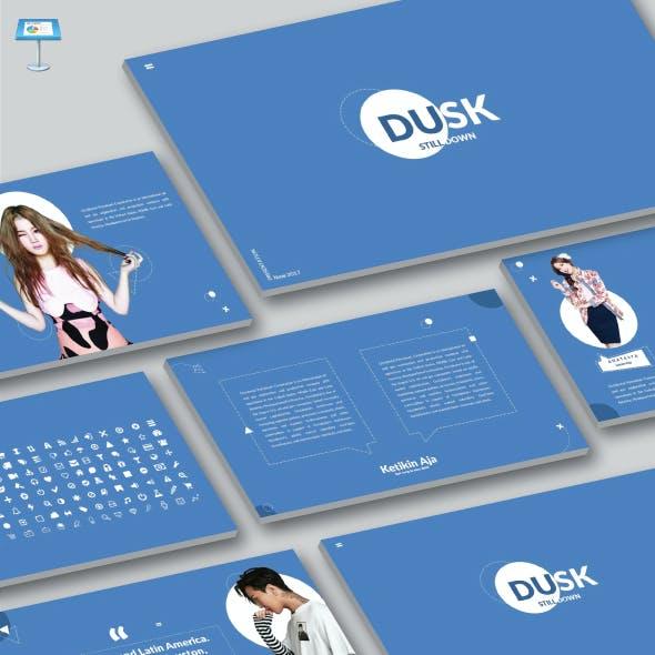 Dusk - Keynote Powerpoint