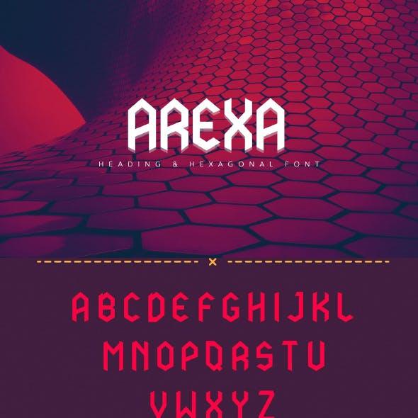 Arexa Font