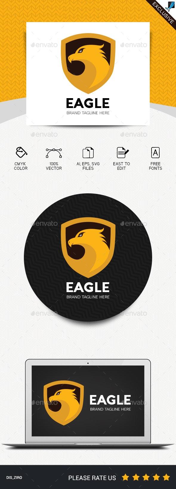 Eagle Logo - Abstract Logo Templates