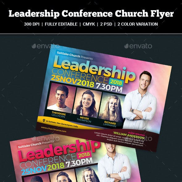 Leadership Conference Church Flyer