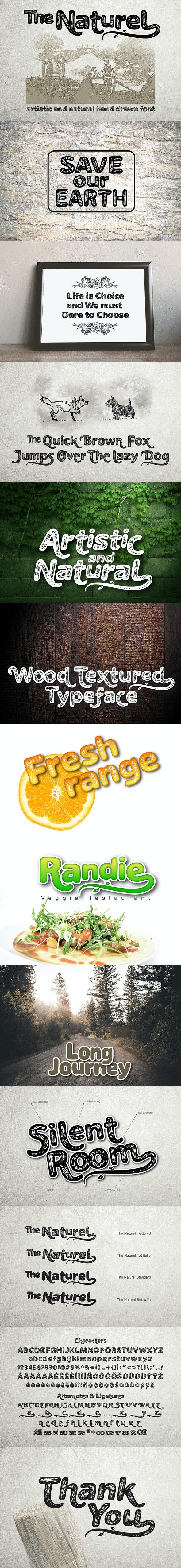 The Naturel Font - Sans-Serif Fonts