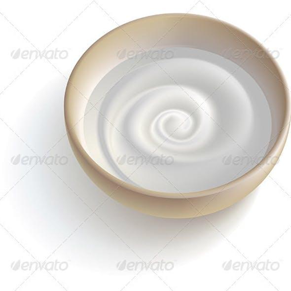 Milky cream