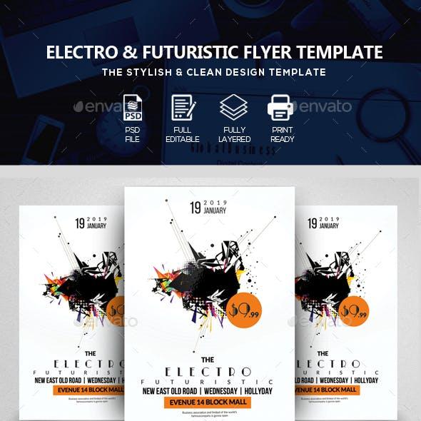 Futuristic Flyer Template