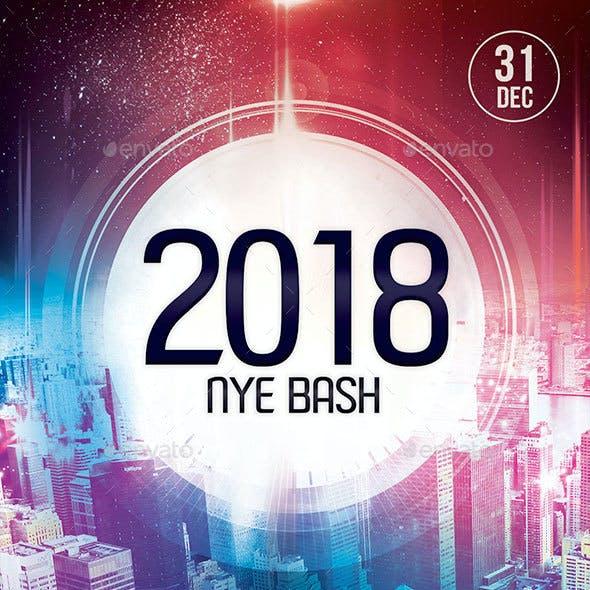2018 NYE Bash Flyer
