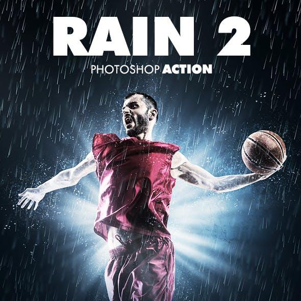 Rain 2 Photoshop Action