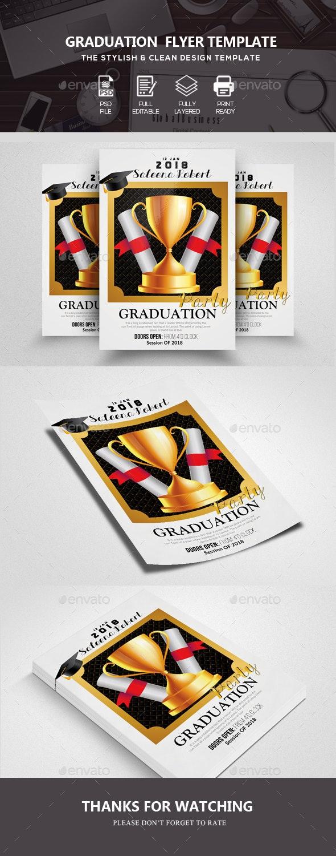 Graduation Flyer Template - Corporate Flyers