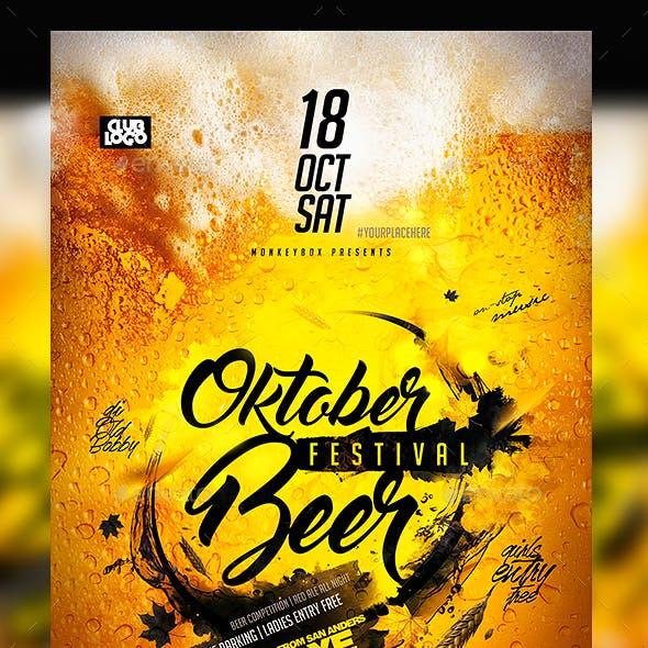 Oktober Beer Fest Flyer