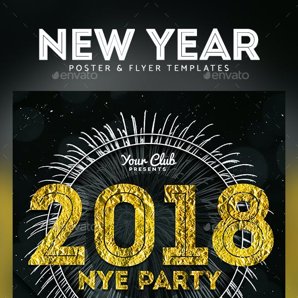 New Year Party Flyer & Poster