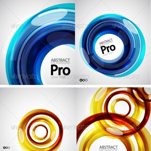 Vector Swirl Templates
