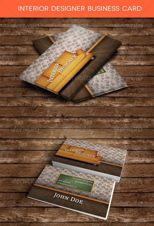 Interior Designer Business Card By Zippy09 Graphicriver,Interior Design Rendering