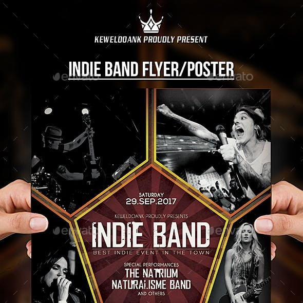 Inide Band Flyer / Poster