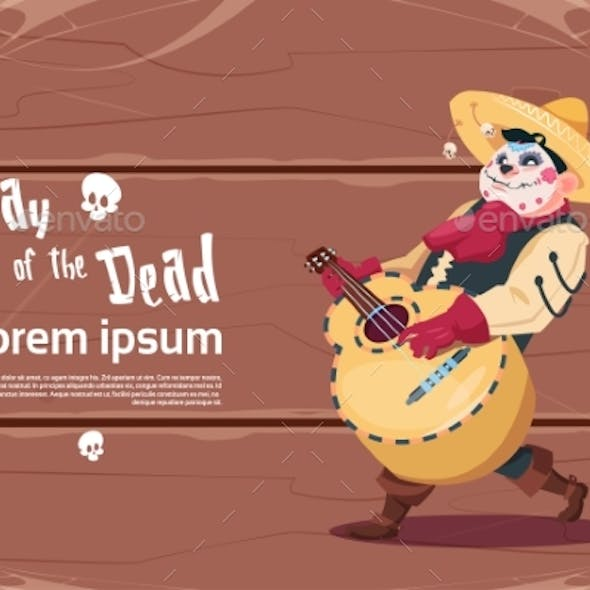 Day of Dead Traditional Mexican Halloween Holiday