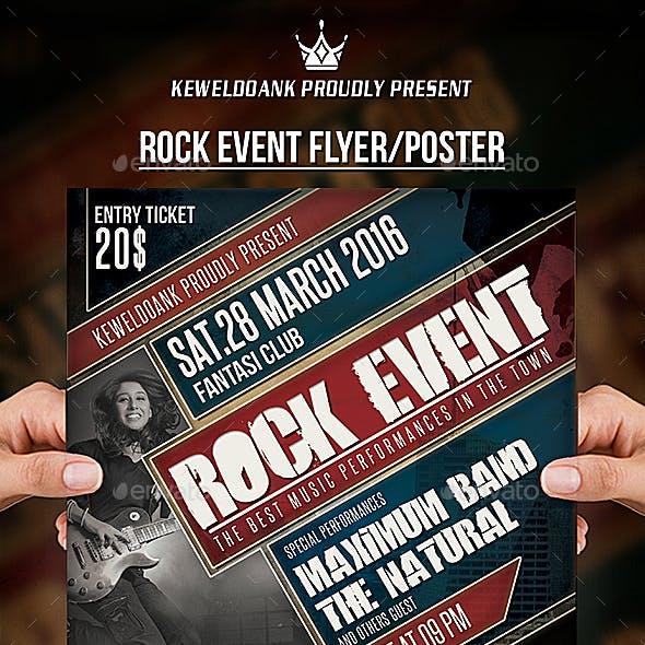 Rock Event Flyer / Poster
