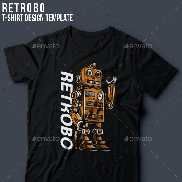 Retrobo T-Shirt Design