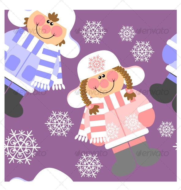 Seamless xmas  ornament 114 - Seasons/Holidays Conceptual