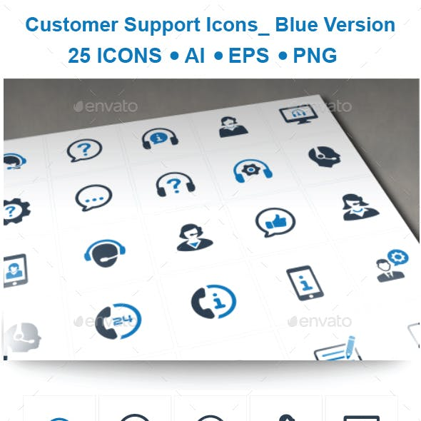 Customer Support Icons