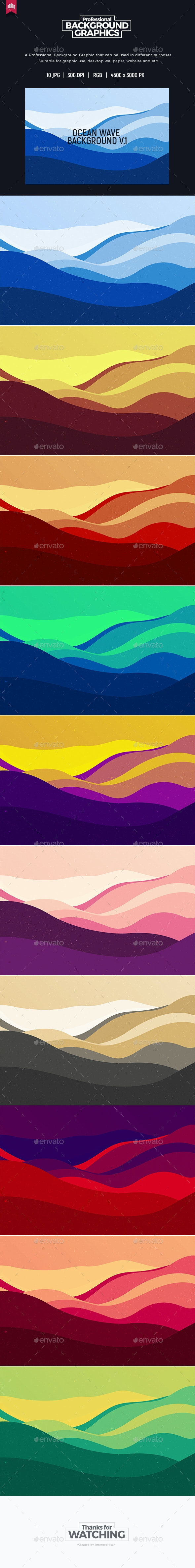 Ocean Wave Background - Nature Backgrounds