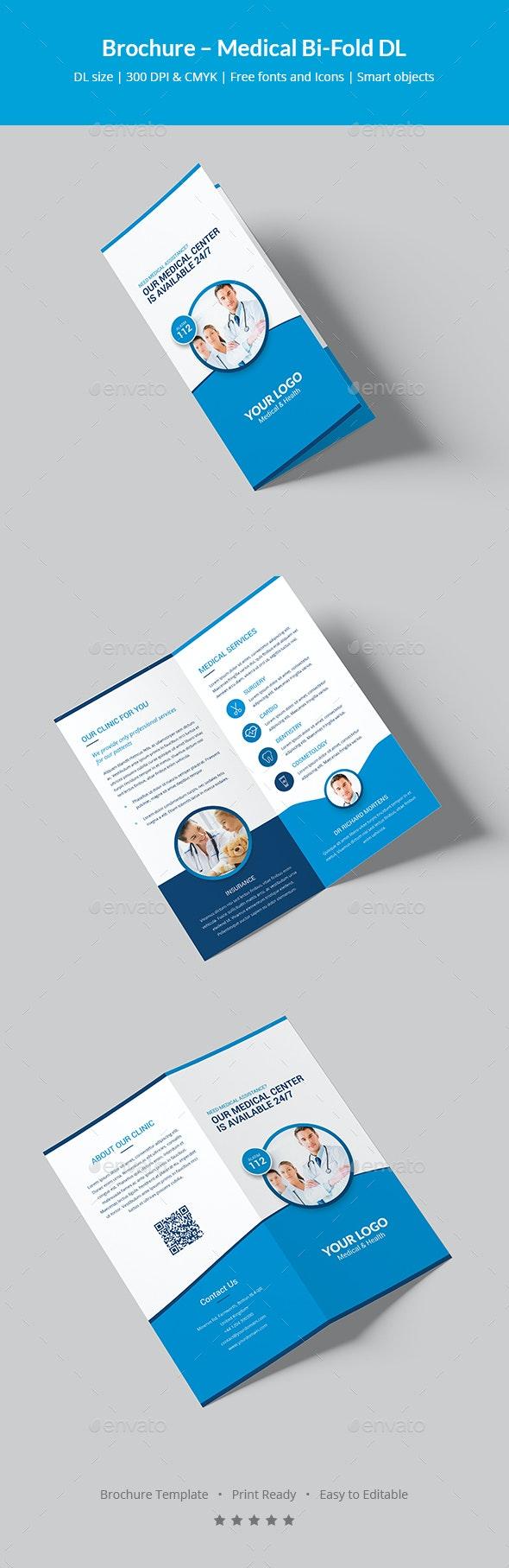 Brochure – Medical Bi-Fold DL - Informational Brochures